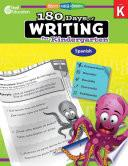 180 Days of Writing for Kindergarten (Spanish) ebook