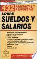 432 Preguntas y Respuestas sobre Sueldos y Salarios