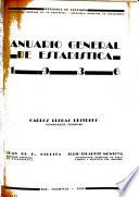 Anuario general de estadística