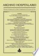 Archivo Hospitalario. Número 13. Año 2015