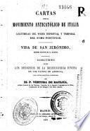 Cartas sobre el movimiento anticatólico de Italia y legitimidad del poder espiritual y temporal del Sumo Pontífice