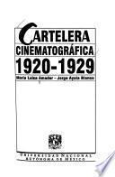 Cartelera cinematográfica, 1920-1929