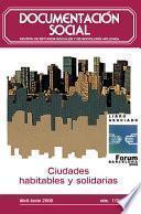 Ciudades habitables y solidarias