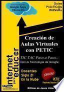 Creación de Aulas Virtuales con PETIC