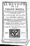 El devoto de la Virgen Maria