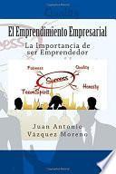 El Emprendimiento Empresarial