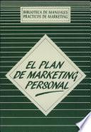 El Plan de marketing personal