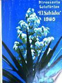 El Salvador, directorio telefónico