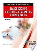 Elaboración de Materiales de Marketing y Comunicación (MF_2189_3)