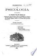 Elementos de psicología