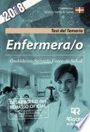Enfermera/o. Osakidetza-Servicio Vasco de Salud. Test del Temario