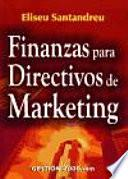 Finanzas para directivos de marketing
