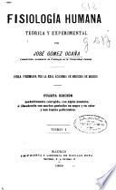 Fisiología humana teórica y experimental ...