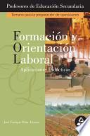 Formacion Y Orientacion Laboral. Aplicaciones Didacticas. Profesores de Educacion Secundaria. Temario Para la Preparacion de Oposiciones. Ebook