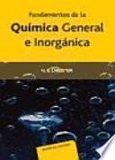 Fundamentos de la química general e inorgánica