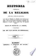 Historia compendiada de la religion antes de la venida de Jesucristo