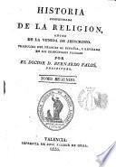 Historia compendiada de la religión, antes de la venida de Jesucristo