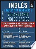 Inglés (Inglés Sin Barreras) Vocabulario Ingles Basico - 4 - JKL
