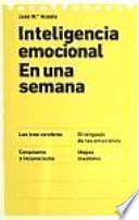 Inteligencia emocional en una semana