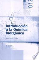 Introduccion a la Quimica Inorganica
