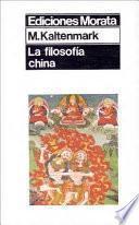 La filosofía china