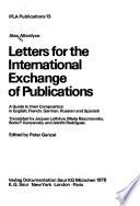 Letters for the International Exchange of Publications
