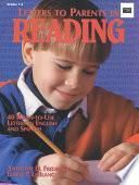 Letters to Parents in Reading