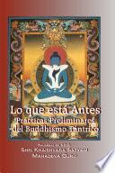 Lo que está antes - Prácticas Preliminares del Buddhismo Tántrico