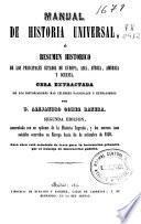 Manual de historia universal