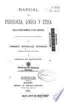 Manual de psicología, lógica y ética