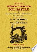 Manual teórico y práctico del sastre