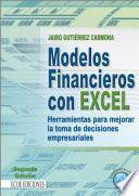 Modelos financieros con Excel