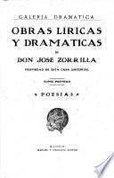 Obras líricas y dramáticas: Poésias