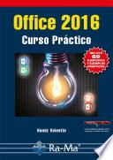 Office 2016. Curso Práctico