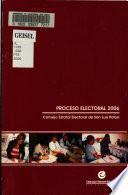 Proceso electoral 2006