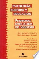 Psicología, cultura y educación