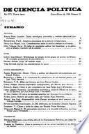 Revista mexicana de ciencia política