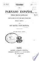 Tesoro del Parnaso español