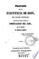 Tratado de la existencia de Dios