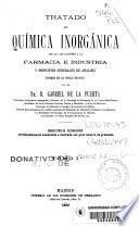 Tratado de química inorgánica con las aplicaciones a la industria y principios generales de análisis conforme con las teorías modernas