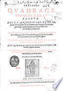 Tratados quadragesimales y de la Pascua