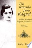 Un recuerdo para Raquel