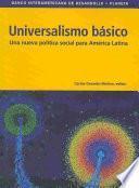 Universalismo basico/ Basic universalism