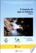 VI Simposio del agua en Andalucía